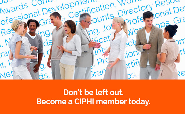 Become a CIPHI member today